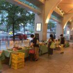 名駅ナナちゃん人形近くのオーガニックマーケットに行ってみた